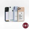 [1+1] 카드 포켓 에어쿠션 투명 폰 케이스(아이폰 갤럭시 핸드폰)