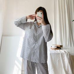 올두잇 심플스트라이프 파자마파티 잠옷