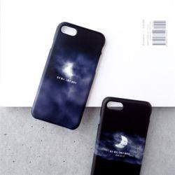 그 날 밤의 달 이니셜 케이스 갤럭시 아이폰