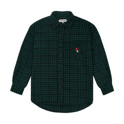 Heart Check Over Shirts (green)