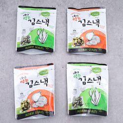 내가먹는 김스낵 김과자 양파맛 30g