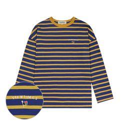Flag Stripe Long Sleeve (marine blue)