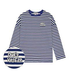 Ours Stripe Long Sleeve (cobalt blue)