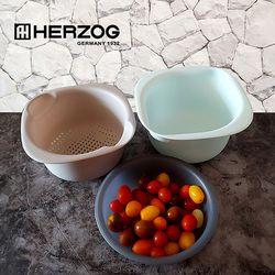 헤르조그 콜랜더 보울 3종세트 MCHZ-EM010