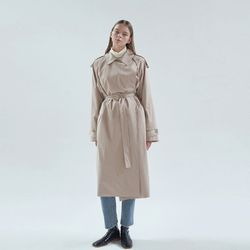 20FW frank trench coat - beige