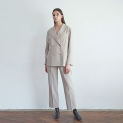 20FW smart setup suit - beige