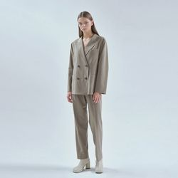20FW smart setup suit - khaki