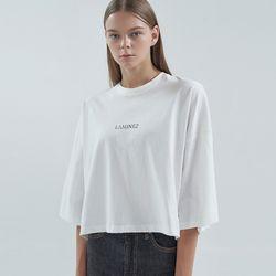 20FW laminez T-shirt - ivory