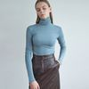 20FW wool pola T-shirt - sky blue