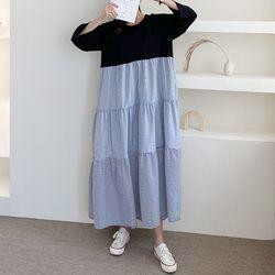 Nuba Cancan Long Dress