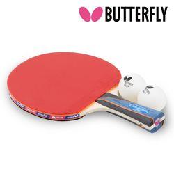 BUTTERFLY  탁구라켓 티모볼3000 (쉐이크)