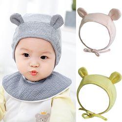 곰돌이 유아 파일럿모자 (0-24개월) 204217