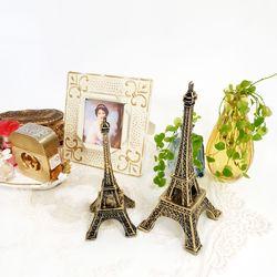 프랑스 골드 에펠 타워 2p set (M)
