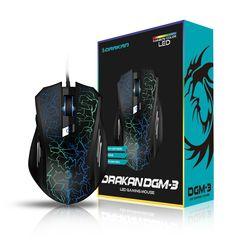 드라칸 DGM-3 LED 게이밍 마우스