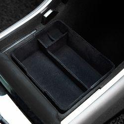본오토파츠 테슬라 모델3 전용 콘솔 수납함 스토리지박스