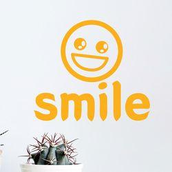 Smile 웃어요 귀여운 디자인 레터링 스티커 small