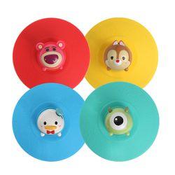 디즈니 썸썸 DIY 피규어 컵 리드 뚜껑 4P