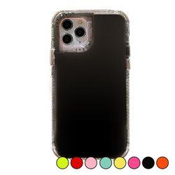 아이폰11프로 컬러풀 유광 심플 젤리 케이스 P008
