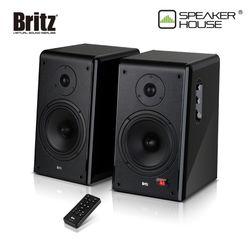 브리츠 BZ-B6000 solo  2채널 Hi-Fi 북셀프 스피커