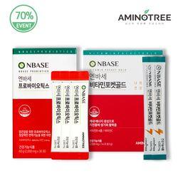 [무료배송] [클린세트] 엔바세 프로바이오틱스 + 비타민포켓골드