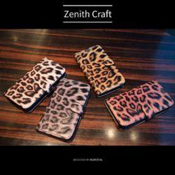 [Zenith Craft] 아이폰 시리즈 호피레오파드 다이어리