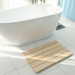 제이픽스 편백나무 원목 대형 욕실 발판  JRB70