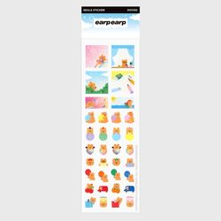 Cherry bear collection(글리터스티커)