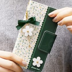 LG Q7 (Q720)   FlowerBed 지갑 다이어리