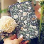 갤럭시노트9 (N960) 아이콘-Nosegay-MissNaive 지갑 다이어리