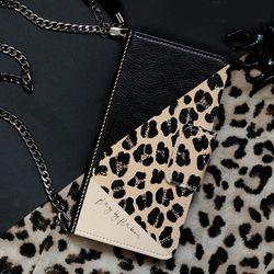 갤럭시노트10 (N971)   Retro-Leopard 지갑 다이어리