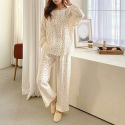 Soft Cherry Pajama Set