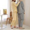 Rich Stripe Pajama Set - 커플룩