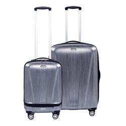 겐지아 KFZ011 실버 28인치 수화물용 하드캐리어 여행가방