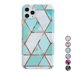 아이폰SE2 대리석 패턴 스마트톡 젤리 케이스 P550
