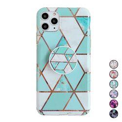 아이폰6 대리석 패턴 스마트톡 커버 젤리 케이스 P550