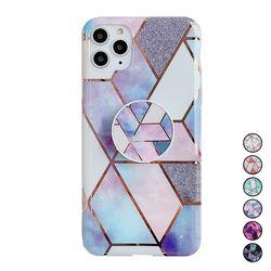 아이폰6S 대리석 패턴 스마트톡 젤리 케이스 P550