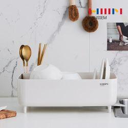 [한샘] 컴팩트 식기건조대 설거지 씽크대 물빠짐 추천 설거지통