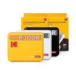 코닥 휴대용 포토프린터 미니 3 레트로 P300R + 카트리지 60매