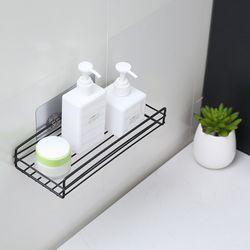욕실철제 선반 용품 보관 벽접착홀더1개 포함