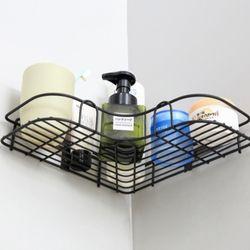 욕실철제 선반 용품 보관 벽접착홀더4개 포함