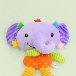 (가베가족베이비) KS2654 뮤지컬 촉각인형 코끼리