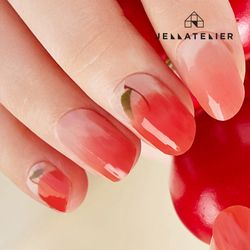 젤라뜨리에 젤네일스티커 T04 Cherry Ade