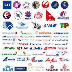 감성 레트로 노트북 여행가방 데코스티커 - 항공사+티켓 - 105매