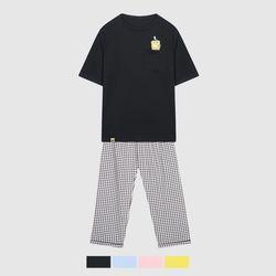 (스폰지밥) 비키니시티 인싸 티셔츠 잠옷_SPPPA49U04
