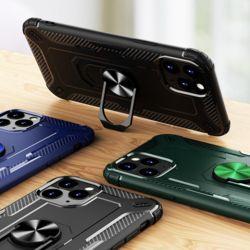 아이폰11 SE2 XR X 8 7 다각도 핑거링 에어백 케이스