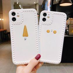아이폰 11 SE2 XR XS 8 7+ 꼬깔 쿠키 실리콘 케이스