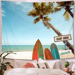 태피스트리 패브릭 포스터 - 서프 비치 (200x150cm)