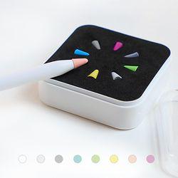 애플펜슬 레인보우 8종 펜촉 보호 캡/팁 실리콘 커버