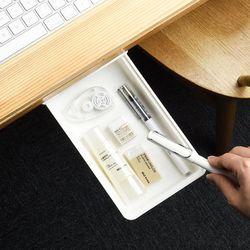 책상 탁자 미니서랍 주방수납 슬라이드 부착서랍 소형2개