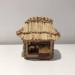 초가집 모형 나무소품